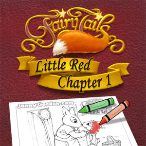 Coloring pages from Fairy Tails: Little Red Chapter 1. New coloring pages every week!