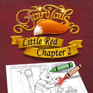 This week's FREE coloring pages -- Fairy Tails: Little Red Chapter 2